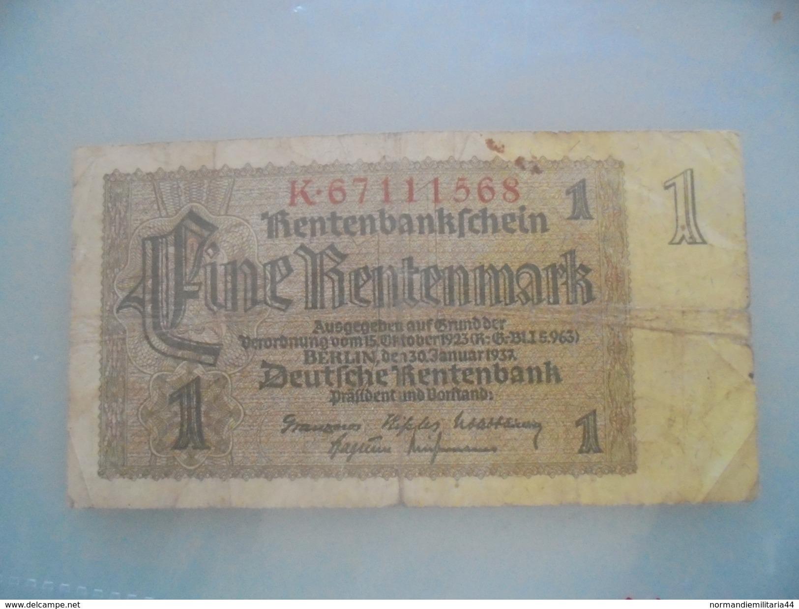 BILLET UN Rentenmark - Other