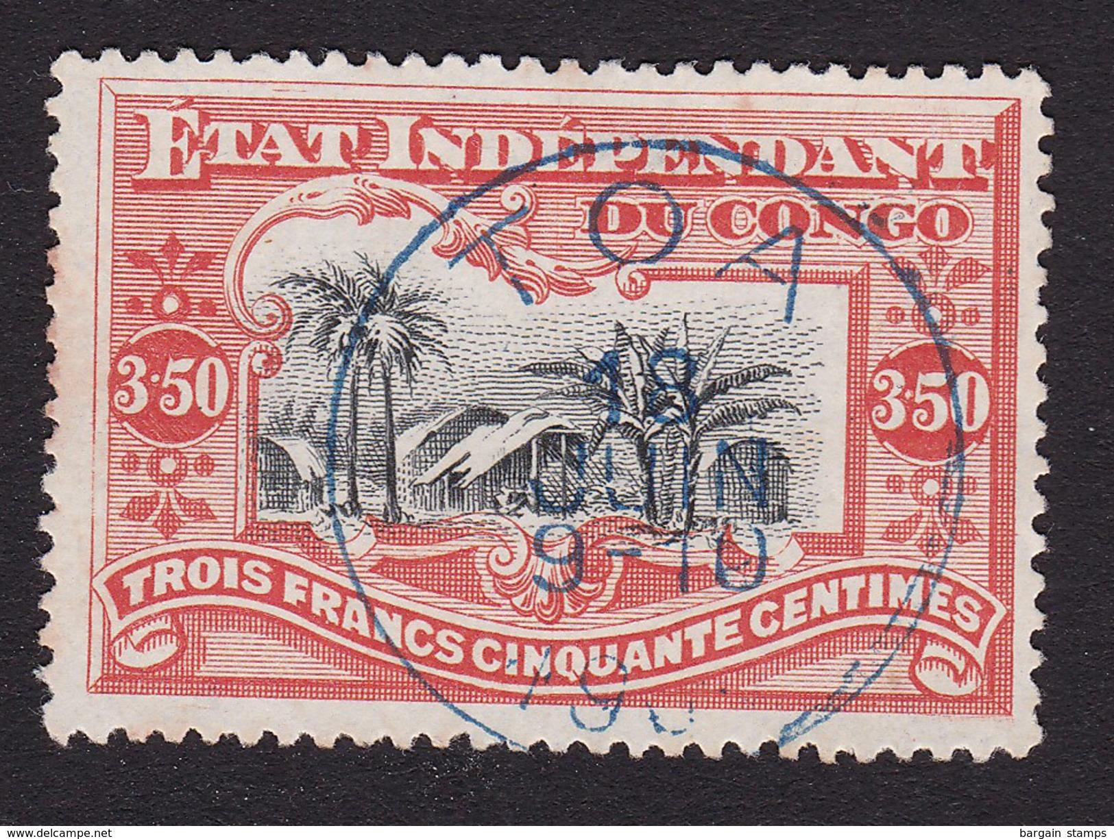 Congo Belge - COB 27 Oblitéré à Toa - Congo Belge
