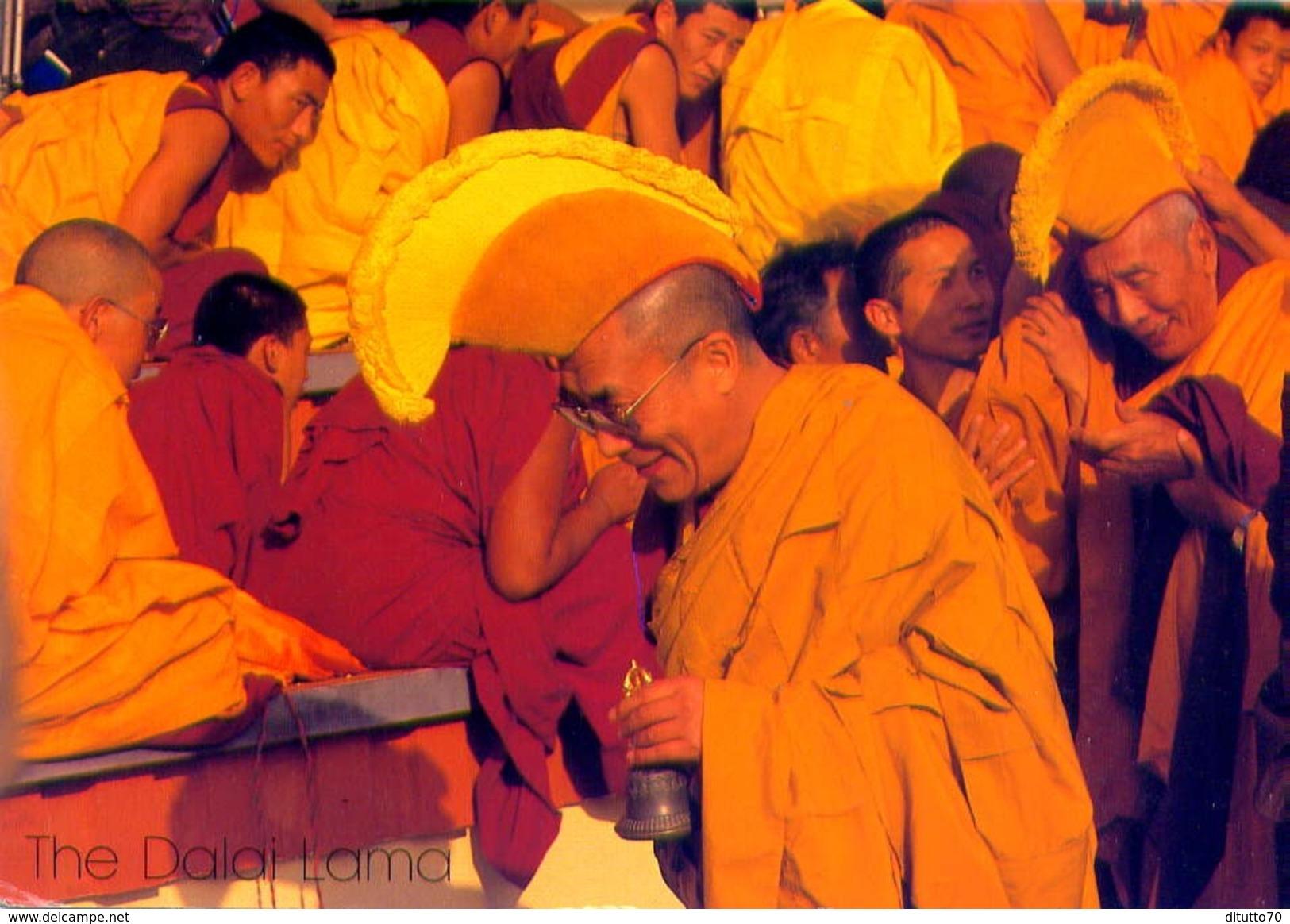 Nepal - The Dalai Lama - Formato Grande Viaggiata - E - Nepal
