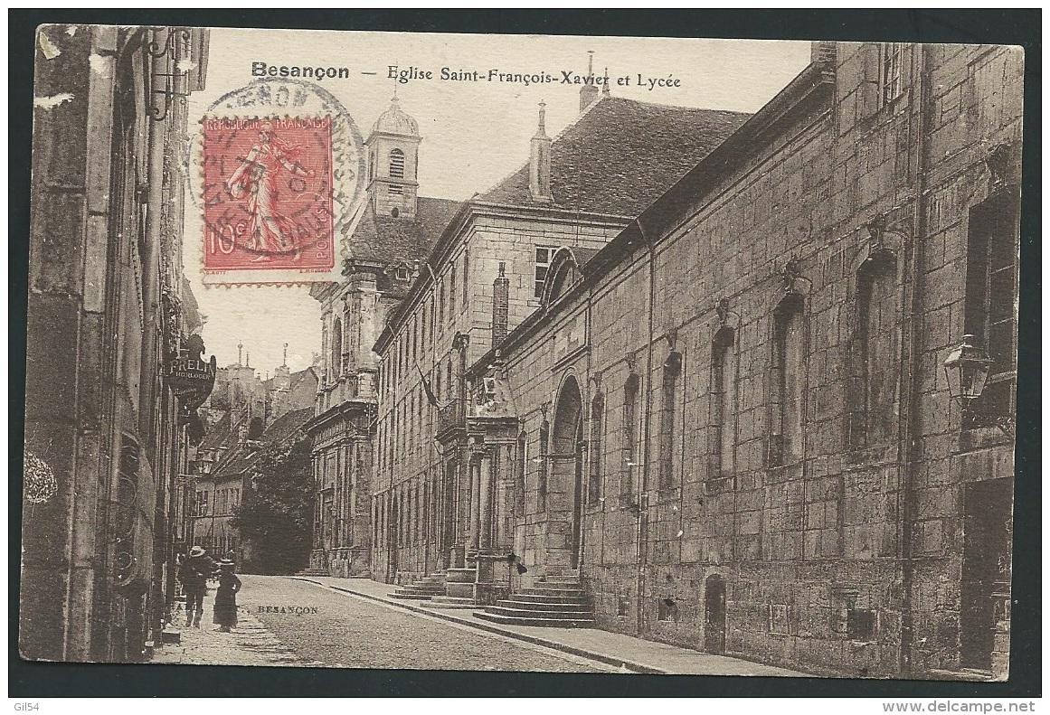 Doubs- Besançon -Eglise Saint-François-Xavier Et Lycée.  - Daw2244 - Besancon