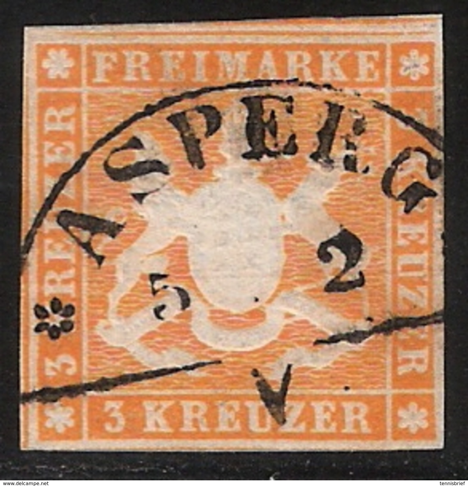 Asperg, Segment, Ideal! , #7311 - Wuerttemberg