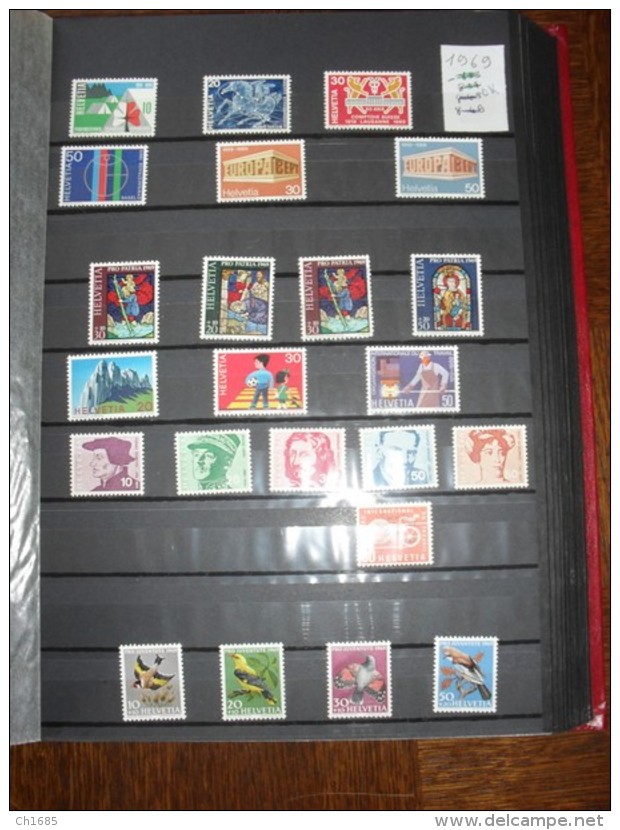 SUISSE   :   De 1862  à  1994   Neuf  XX Et Oblitérés  Cote Importante   49 Scans - Switzerland