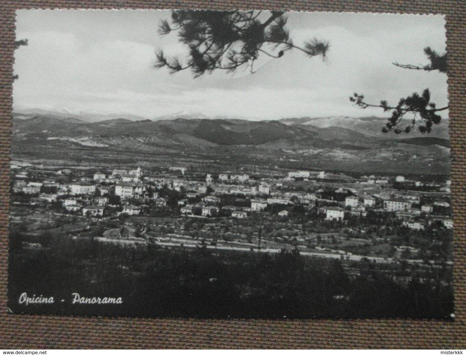OPICINA  - PANORAMA  - - BELLA - Trieste