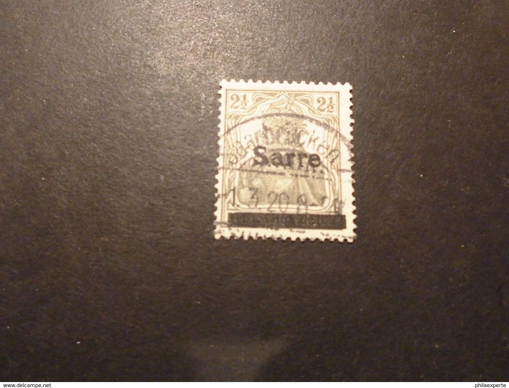 Saargebiet Mi. 2 Gestempelt S.scan - 1920-35 Saargebiet – Abstimmungsgebiet