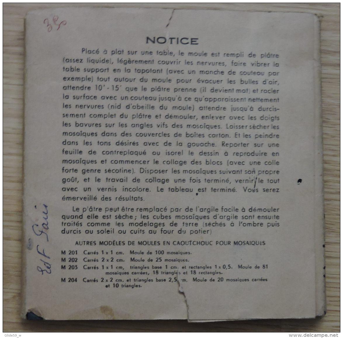 Moule En Caoutchouc Pour Mosaïques - M3201 (an. 60) - Passatempi Creativi