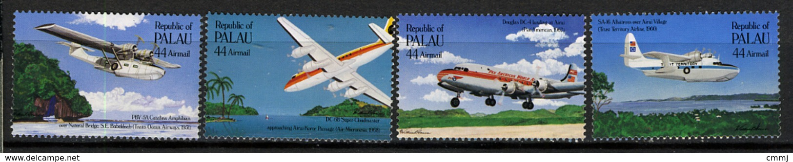 1985 - PALAU -  Catg.. Mi. 92/95 -  NH - (I-SRA3207.33) - Palau