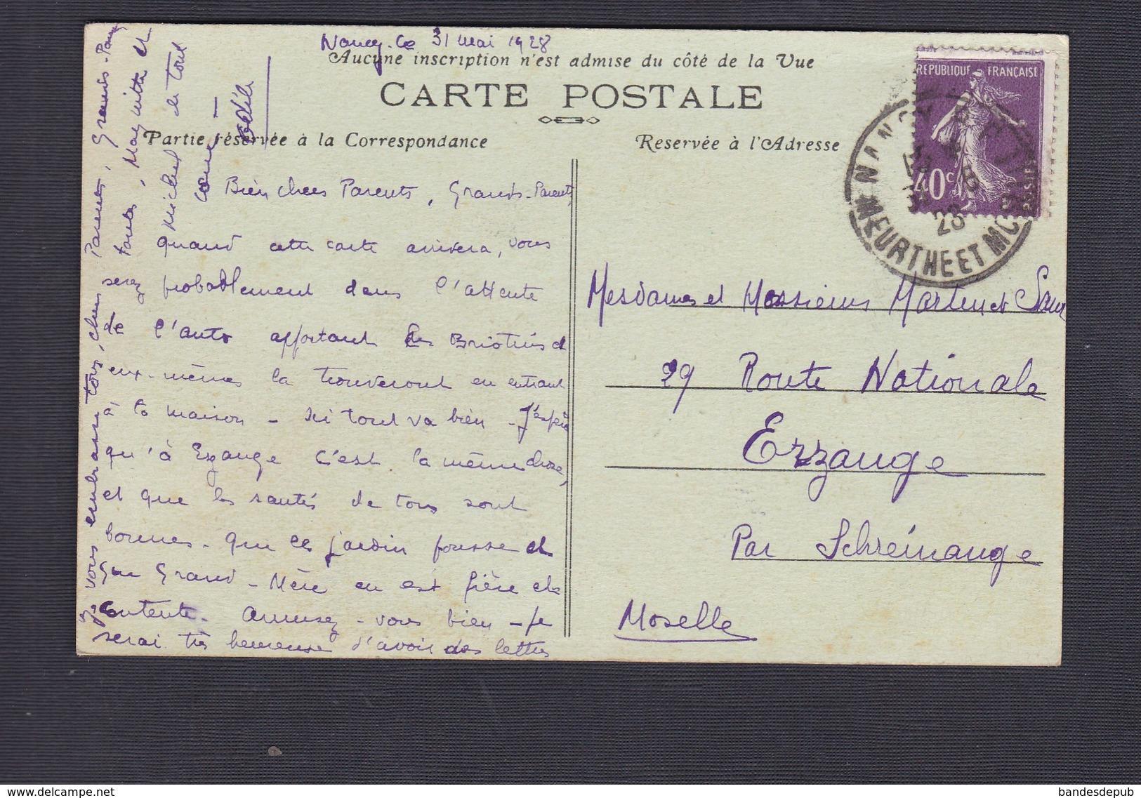 Nancy (54) Cours Notre Dame - Salle à Manger Des Pensionnaires  ( Pensionnat Rue De La Ravinelle Cliché Dominger ) - Nancy
