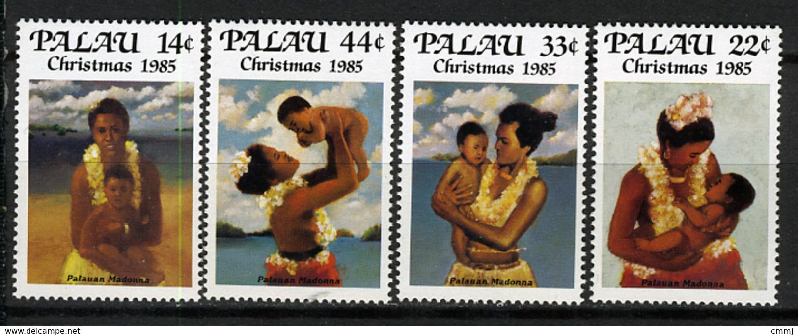 1985 - PALAU -  Catg.. Mi. 89/92 -  NH - (I-SRA3207.34) - Palau