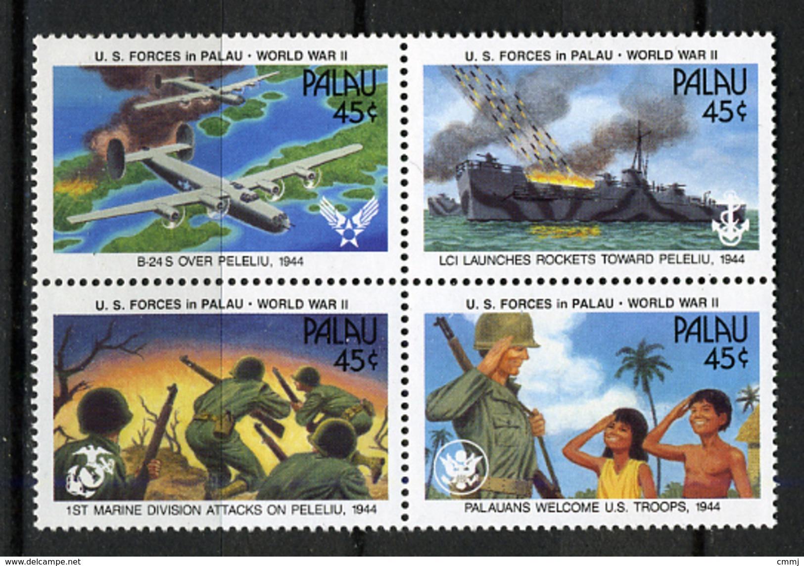 1990 - PALAU -  Catg.. Mi. 402/405 -  NH - (I-SRA3207.34) - Palau