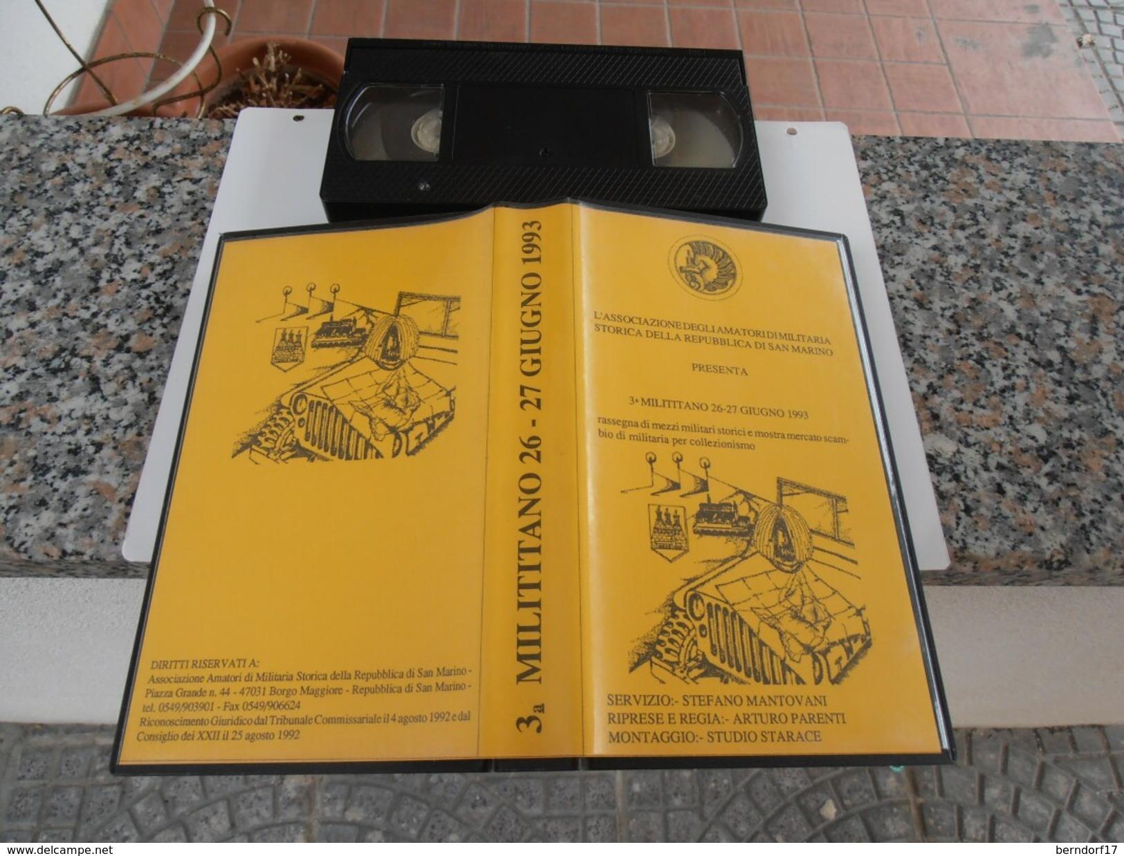 Repubblica Di San Marino - Milititano - VHS - Geschichte