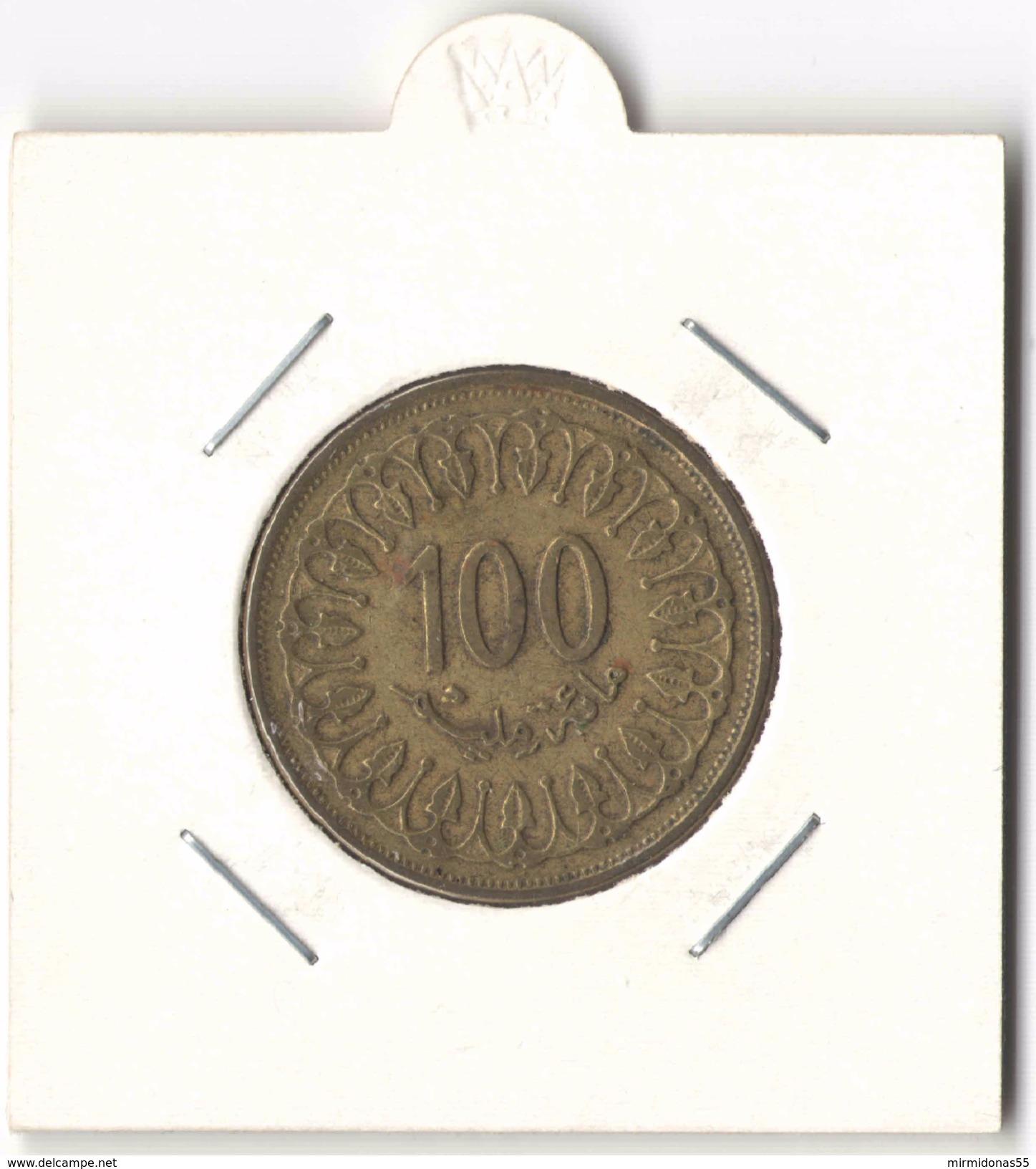 100 Millim1993 (1414) - Tunisia Coin (Tunisie, Millimes) - Tunisia