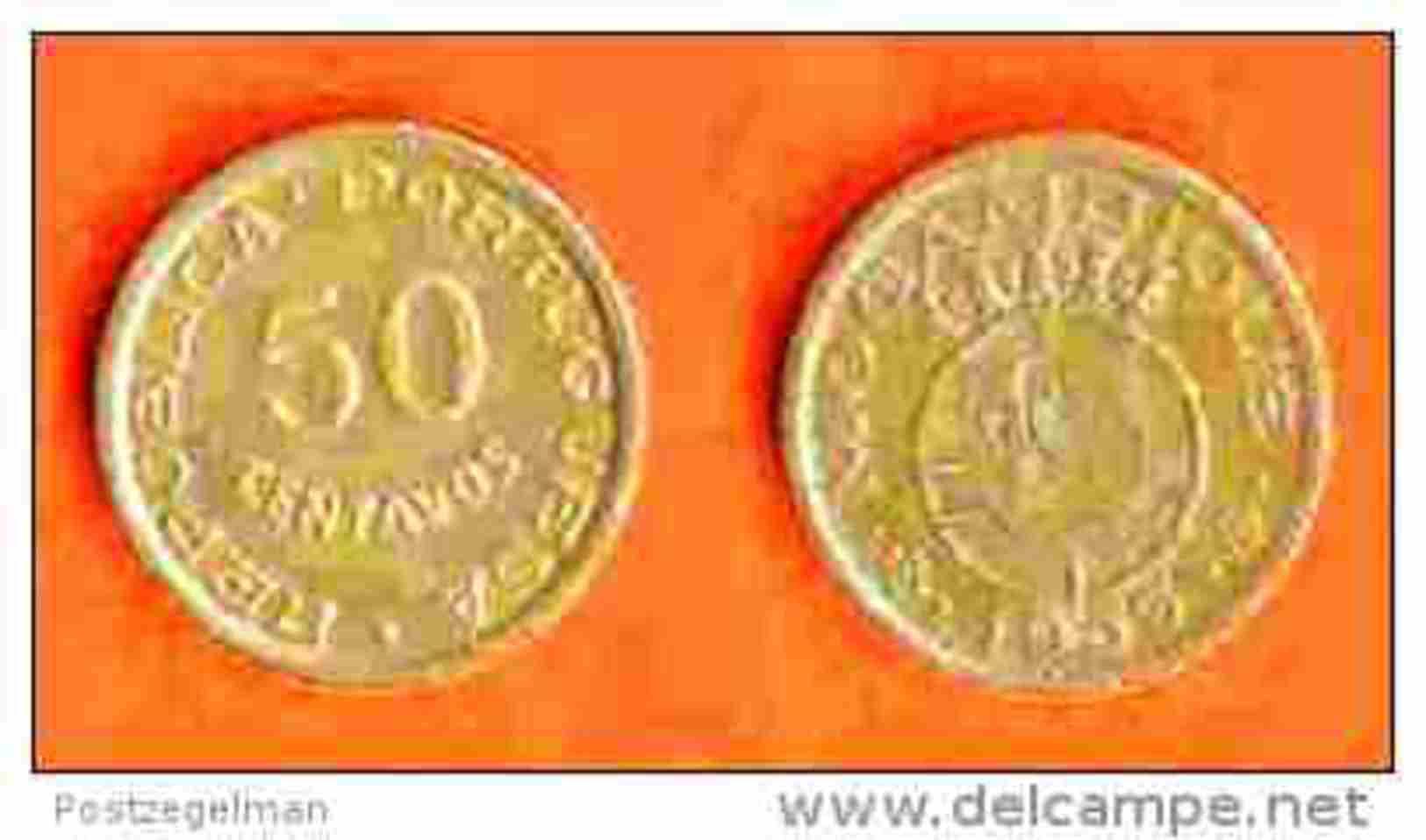 MOZAMBIQUE 1951 ,circulated Coin , 50 Centavos, Bronze, Km76, C207 - Mozambique