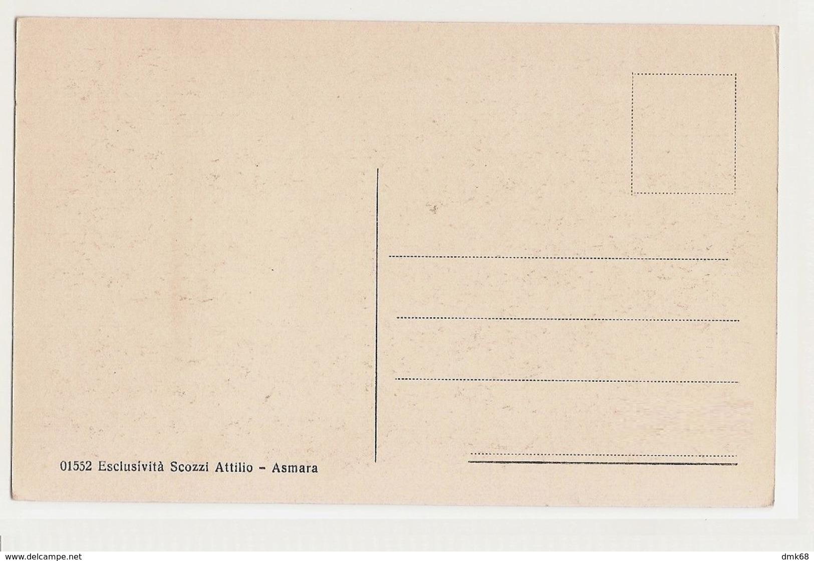 AFRICA - ERITREA - KUNAMA / BAZA TYPE - 1920s ( 795 ) - Eritrea