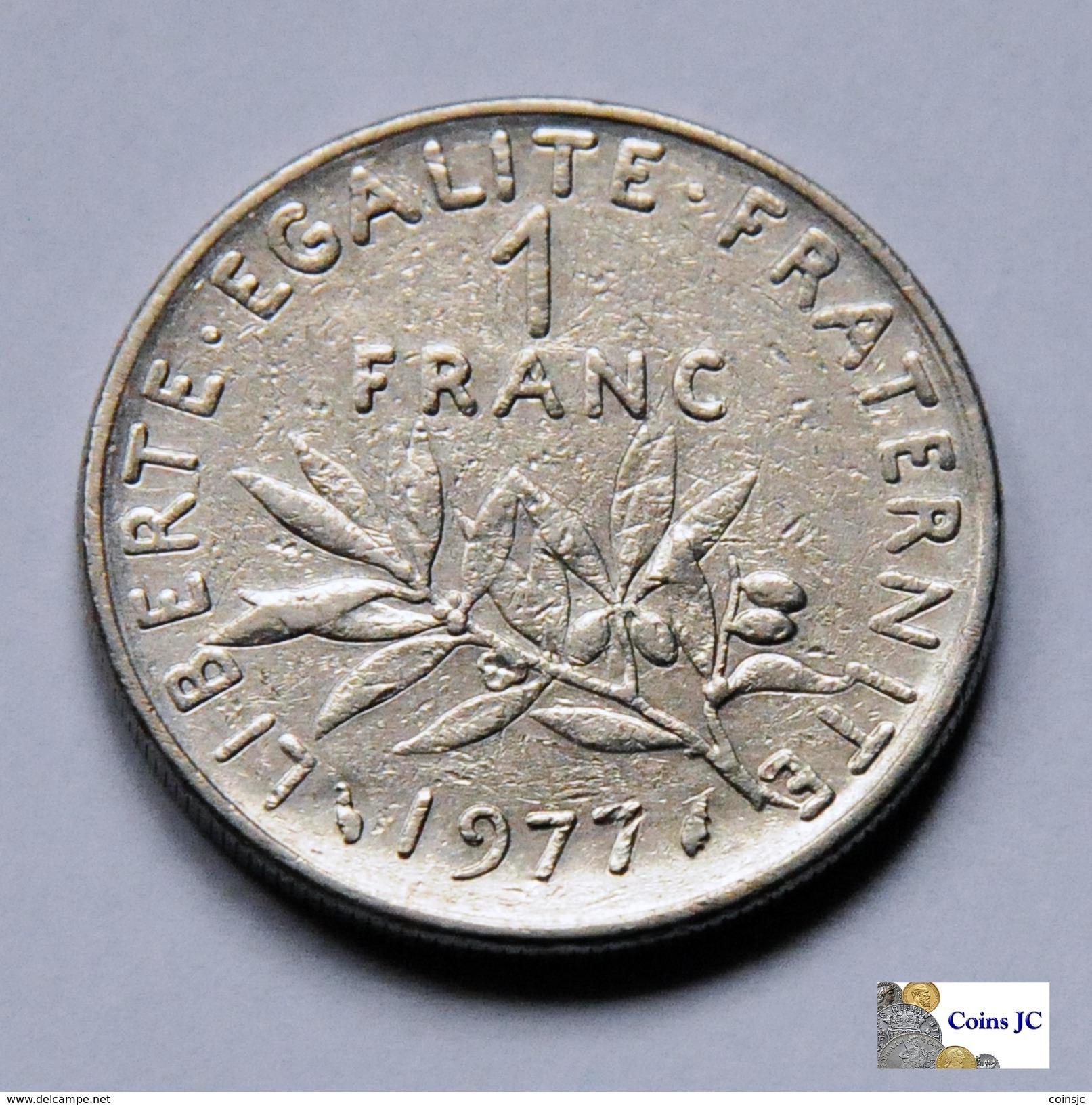 Francia - 1 Franc - 1977 - Francia