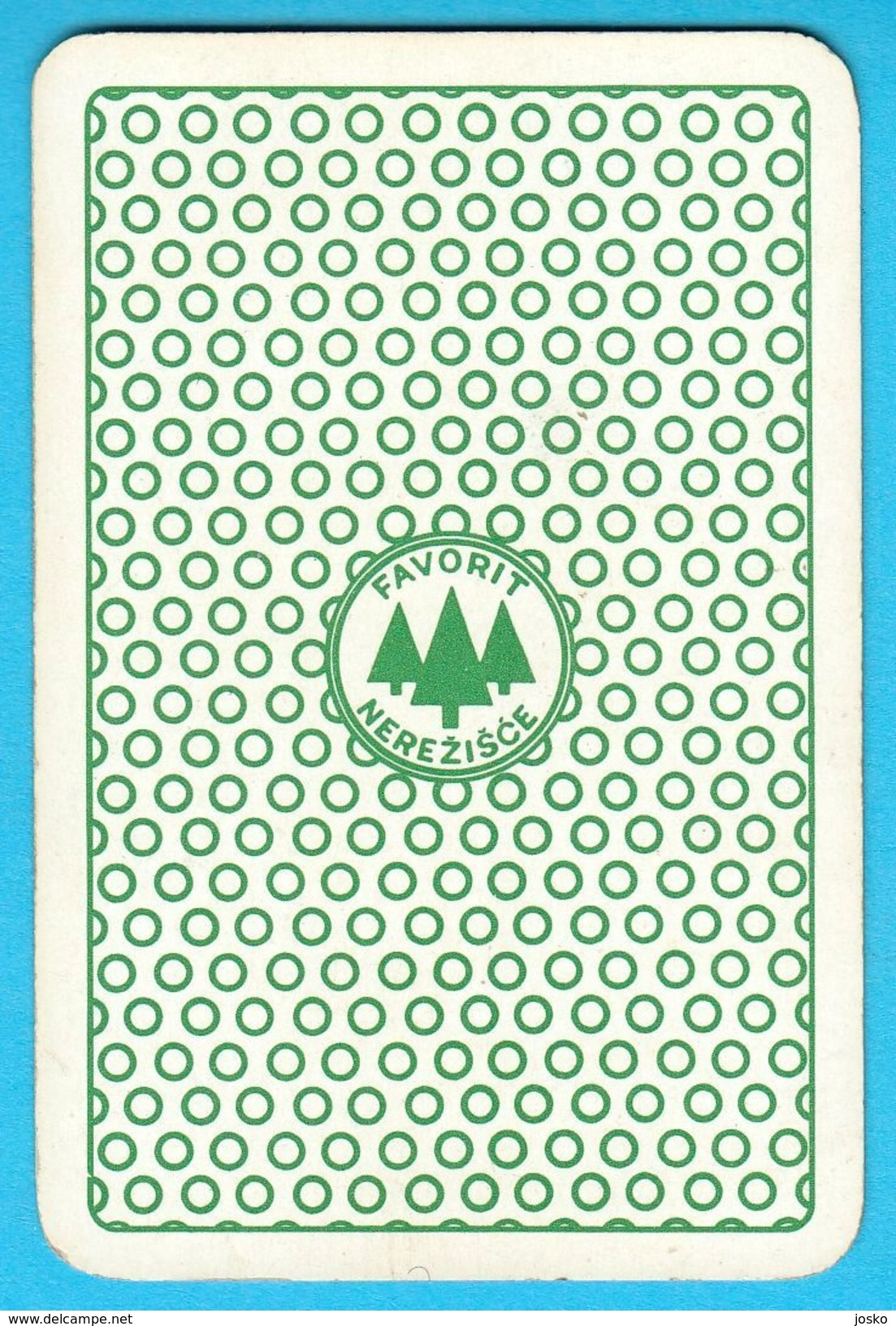 HANNA-BARBERA  - Yugoslav Vintage Playing Card No. 4a ( Boxing ) Issued 1970's By Favorit ** Carte à Jouer Spielkarte - Cartes à Jouer