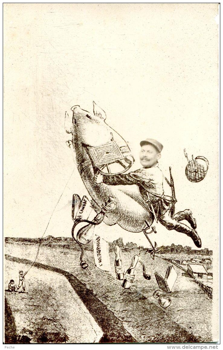 N°34354 -cpa Illustrateur -cochon - - Cochons