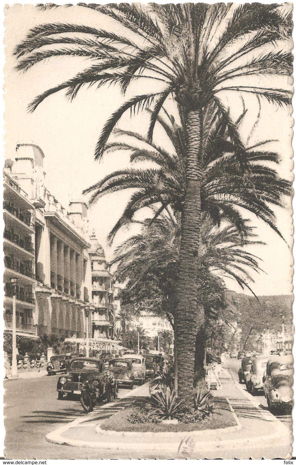 Nice - Le Palais De La Méditerranée - Edit. Gilletta - Anciennes Voitures - Monuments, édifices