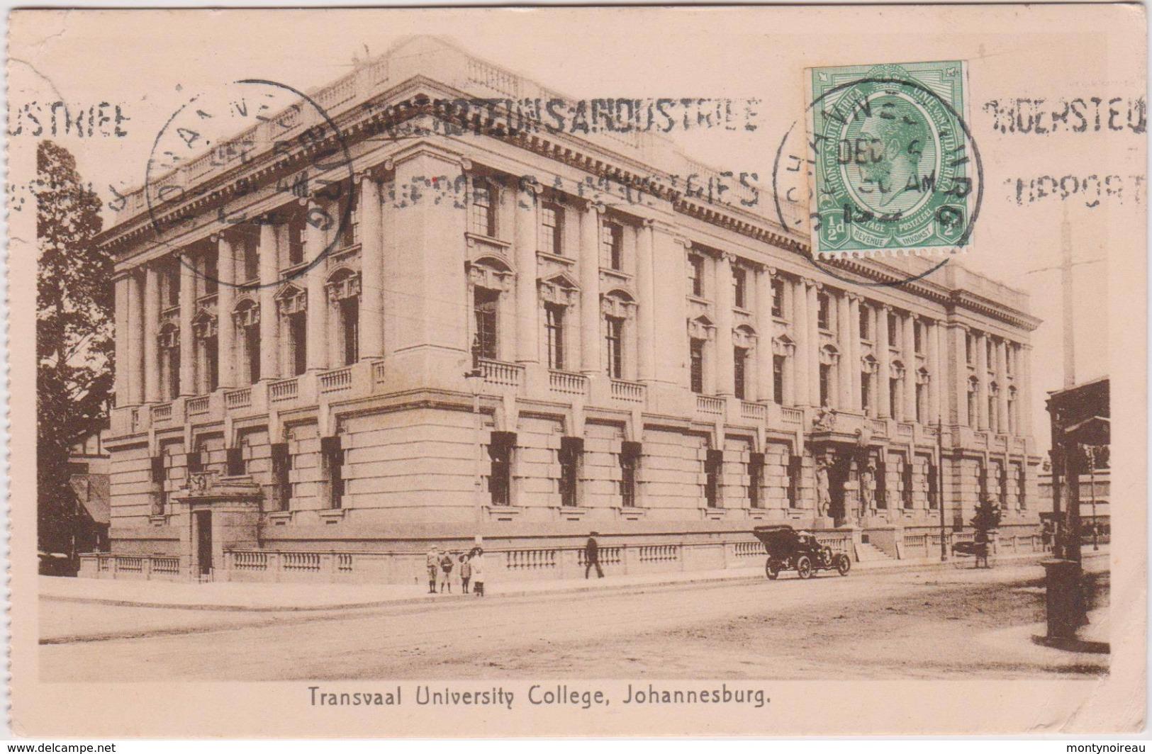 LB 3 : Afrique Du Sud : Johannesburg , Transwaal  University  College  , Carte  Carnet - Afrique Du Sud