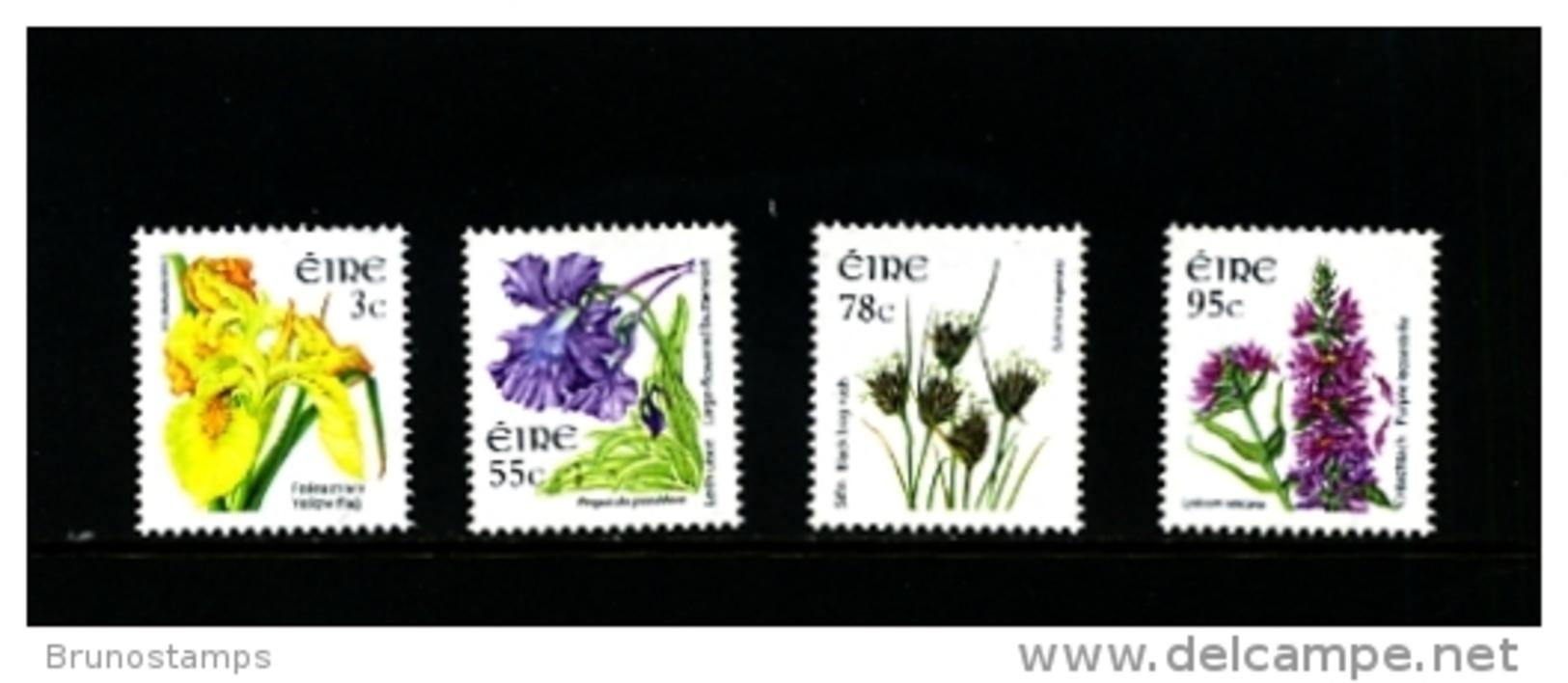 IRELAND/EIRE - 2007  FLOWERS  SET  MINT NH - 1949-... Repubblica D'Irlanda