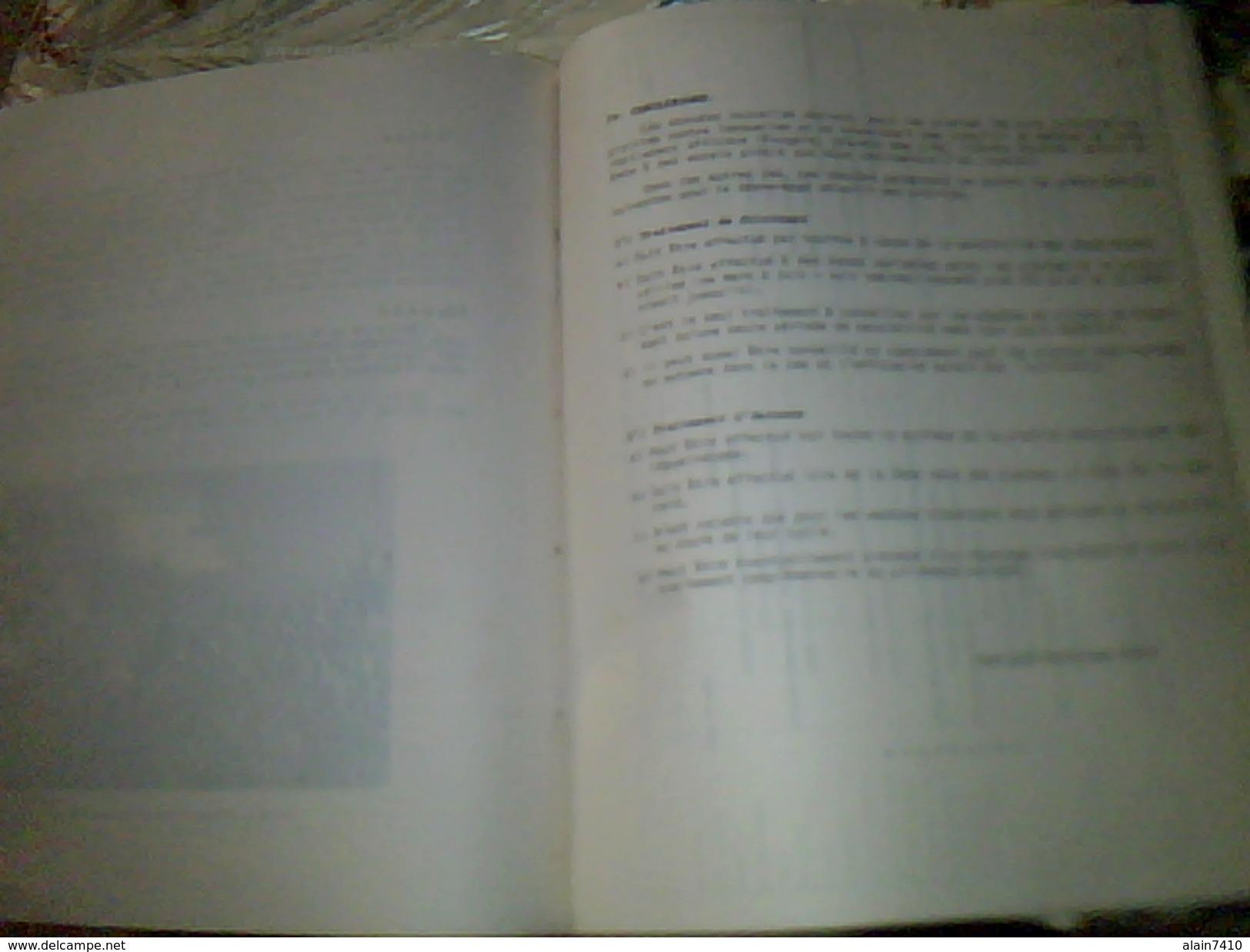 Publicité  Agriculture Desherbant Selectf Des Prairies ESSO STANORMONE Livret 13 Pages - Pubblicitari