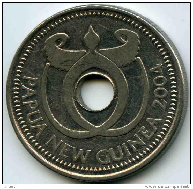 Papouasie Nouvelle Guinée Papua New Guinea 1 Kina 2004 KM 6a - Papouasie-Nouvelle-Guinée