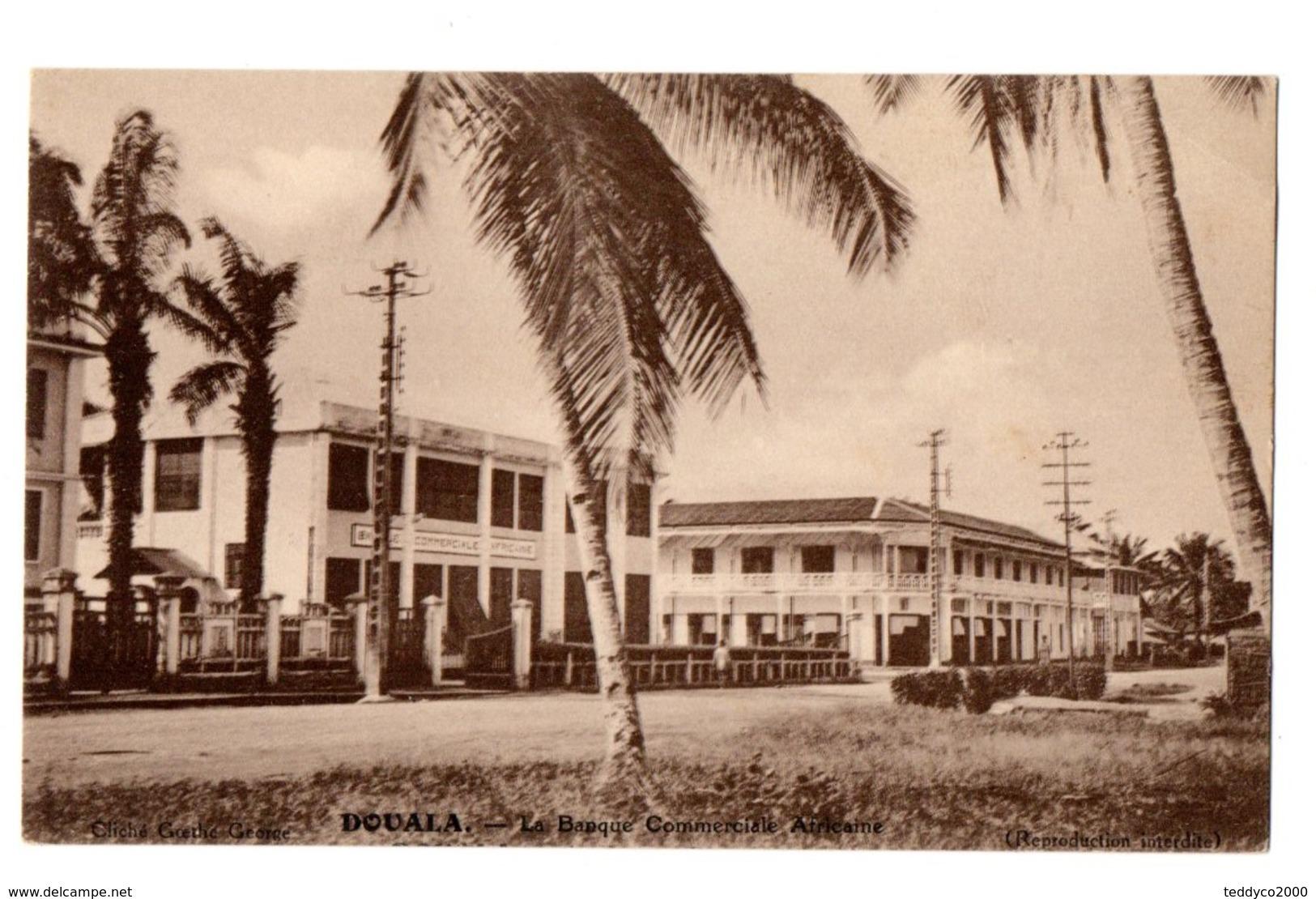DOUALA La Banque Commerciale Africaine 1934 - Cameroun