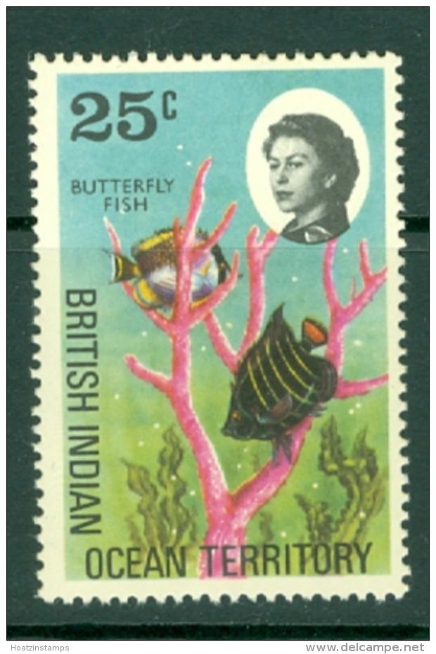 British Indian Territory (BIOT): 1968/70   QE II - Marine Life   SG20    25c   MH - British Indian Ocean Territory (BIOT)