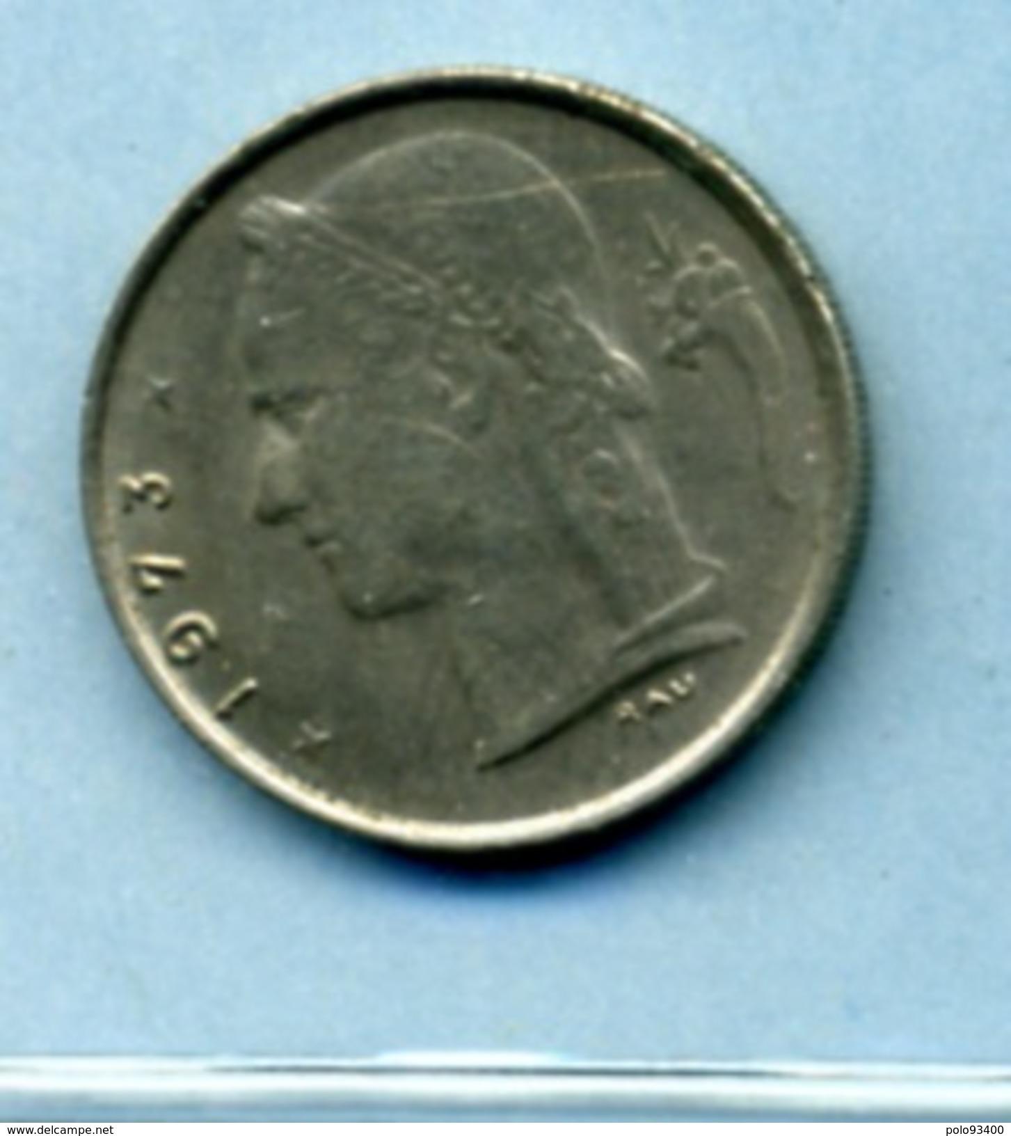1973  1 FRANC BELGIQUE - 1934-1945: Leopold III