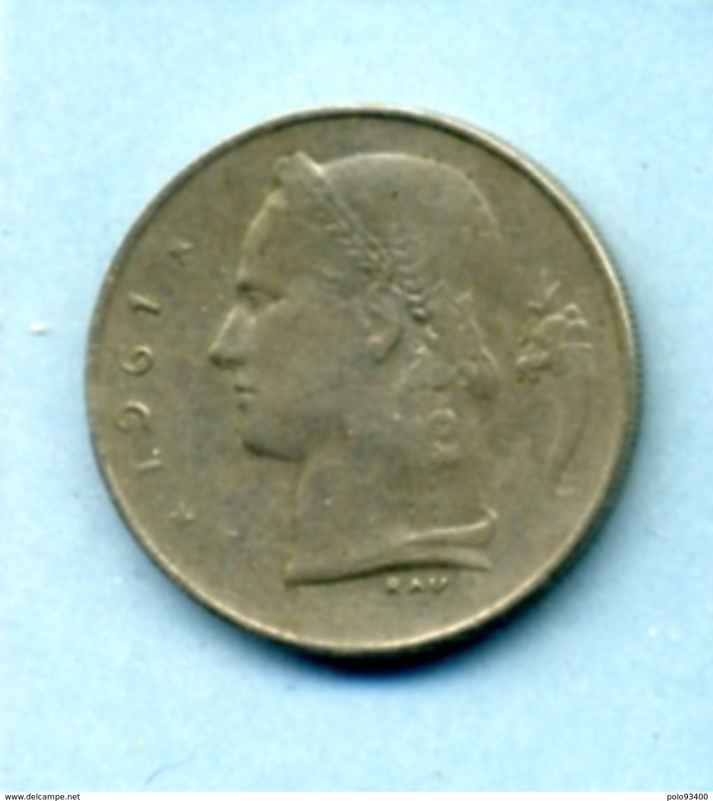 1961  1 FRANC BELGIQUE - 1934-1945: Leopold III