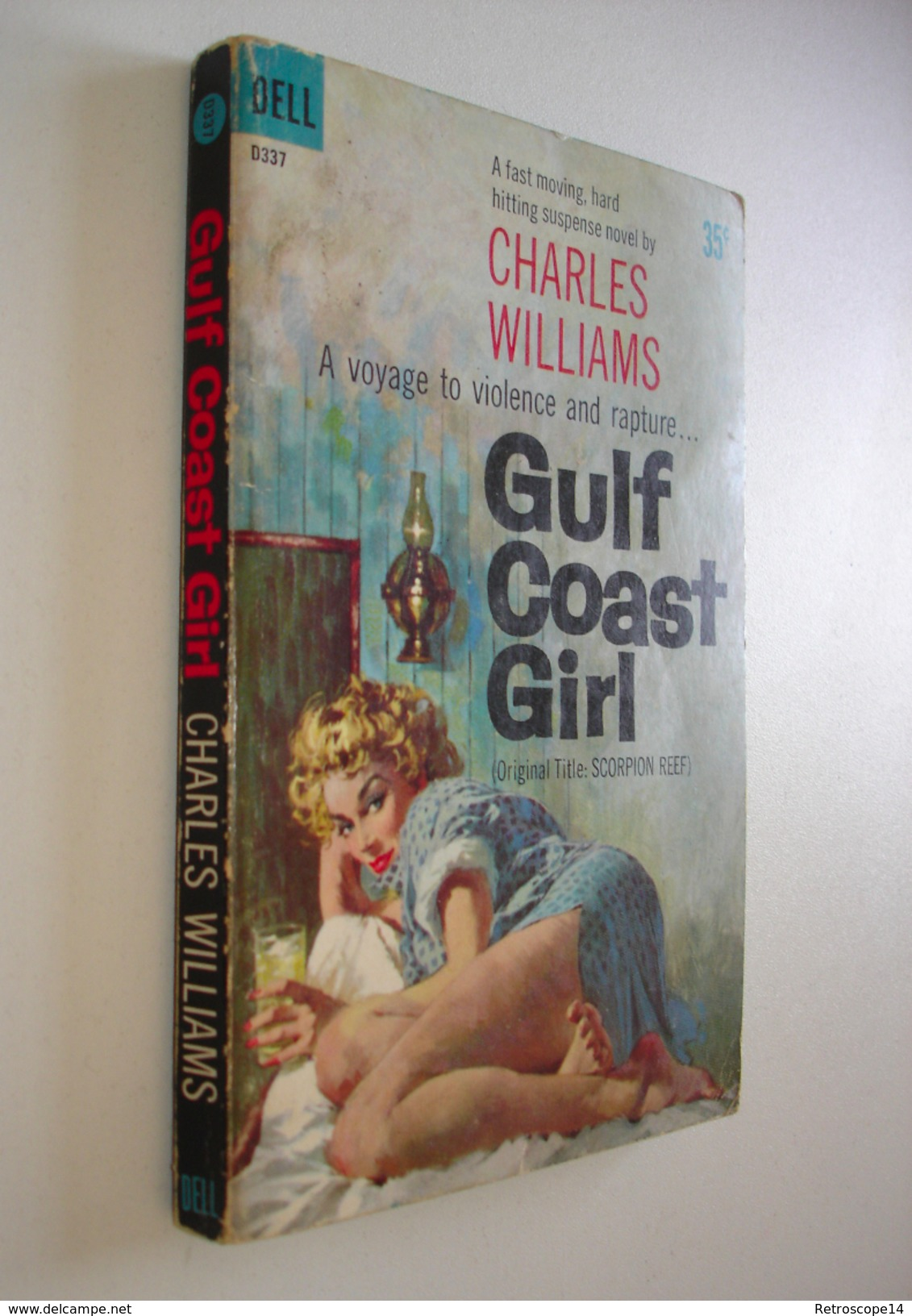 CHARLES WILLIAMS, GULF COAST GIRL,  DELL, 1960 - Polars