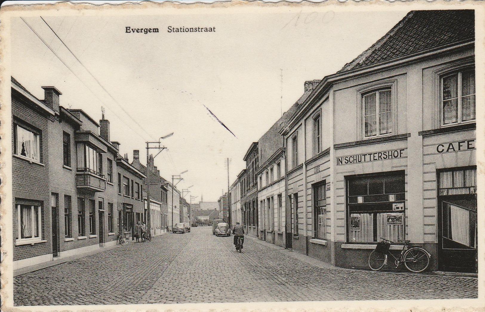 Evergem  Stationstraat - Evergem