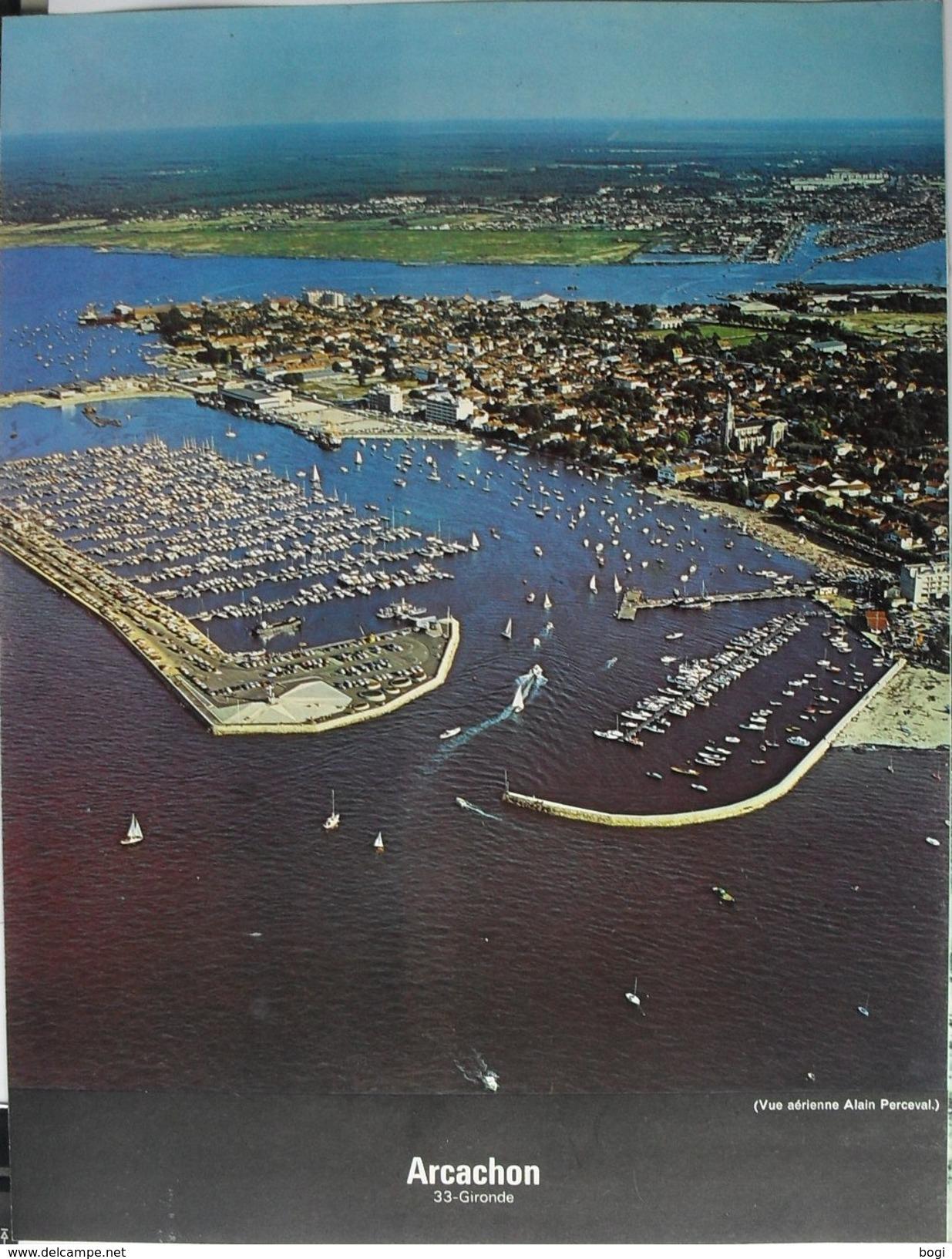 France Ports Havens Haven Port Arcachon - Geographie