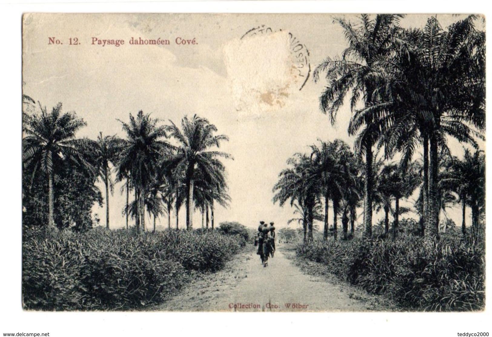 Cové Paysage Dahoméen - Dahomey