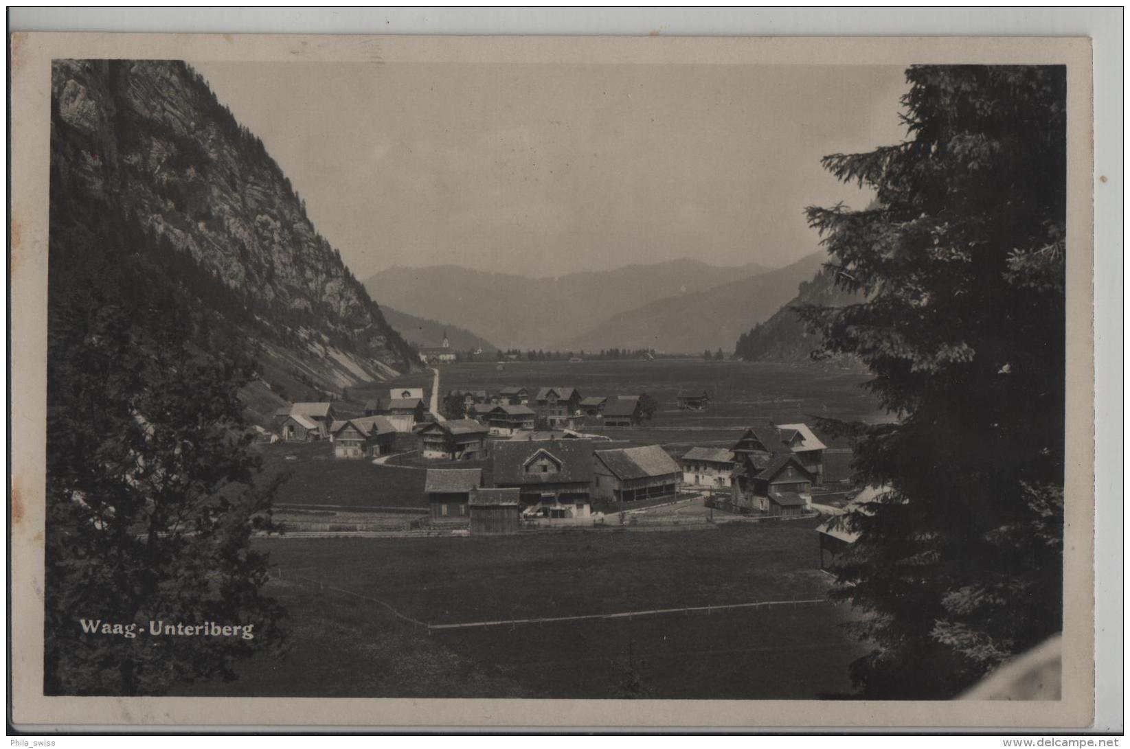 Waag-Unteriberg - Photo: Josephina Kaelin - SZ Schwyz