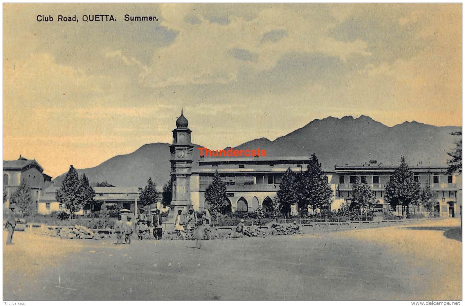 CPA  CLUB ROAD QUETTA SUMMER - Pakistan
