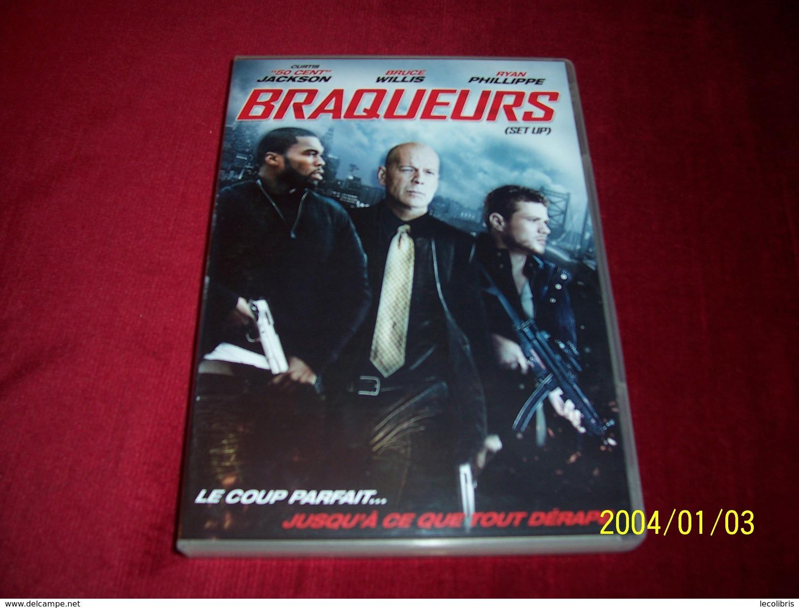 BRAQUEURS AVEC BRUCE WILLIS   °  PROMO  5 DVD ° POUR 10 EUROS ° AUX CHOIX - Policiers