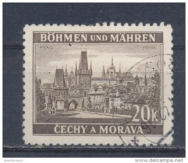 Böhmen Und Mähren/Bohemian & Moravia/Boheme & Moravie 1939 Mi: 61 Yt:  (Gebr/used/obl/o)(808) - Used Stamps