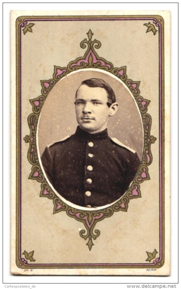 Photo Atelier Brion, Toul, Portrait Soldat In Uniform - Guerre, Militaire
