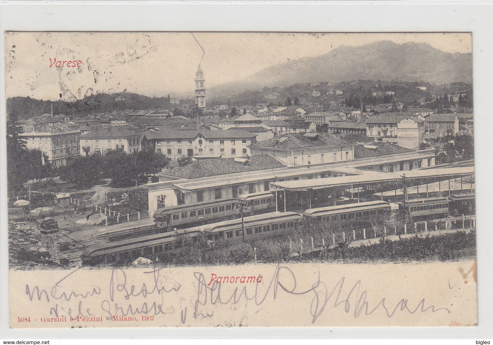 Varese - Treni In Stazione - 1904     (PA-16-110824) - Varese