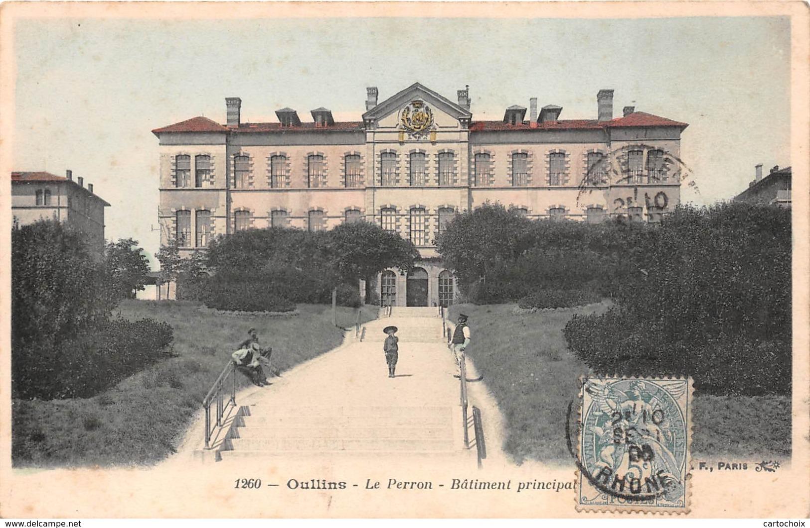 69 - Oullins - Le Perron - Bâtiment Principal - Oullins