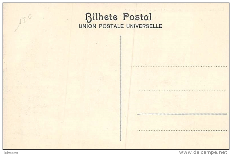 AFRIQUE  GUINEE - BISSAU   BISSAU   QUEIMEDA DA TABANCA EM INTIM   GUERRA DE 1908 - Guinea-Bissau