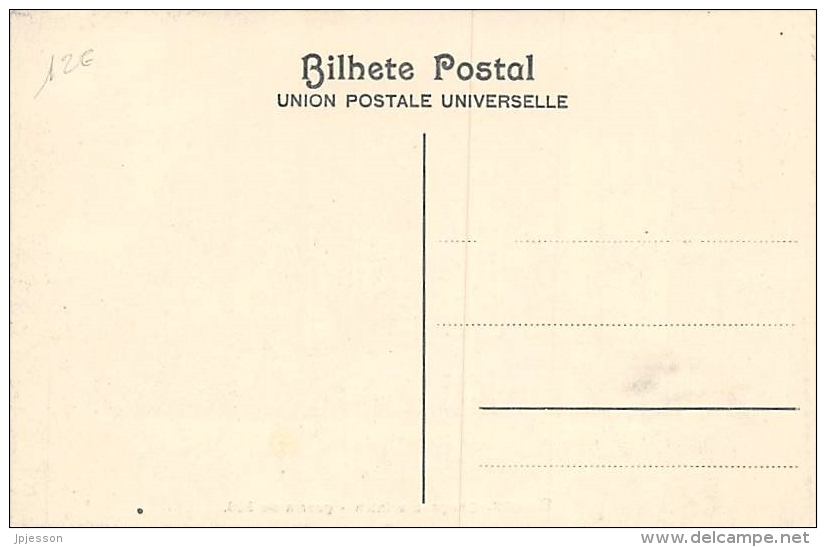 AFRIQUE  GUINEE - BISSAU   BISSAU   CHEGADA A INTIM   GUERRA DE 1908 - Guinea-Bissau
