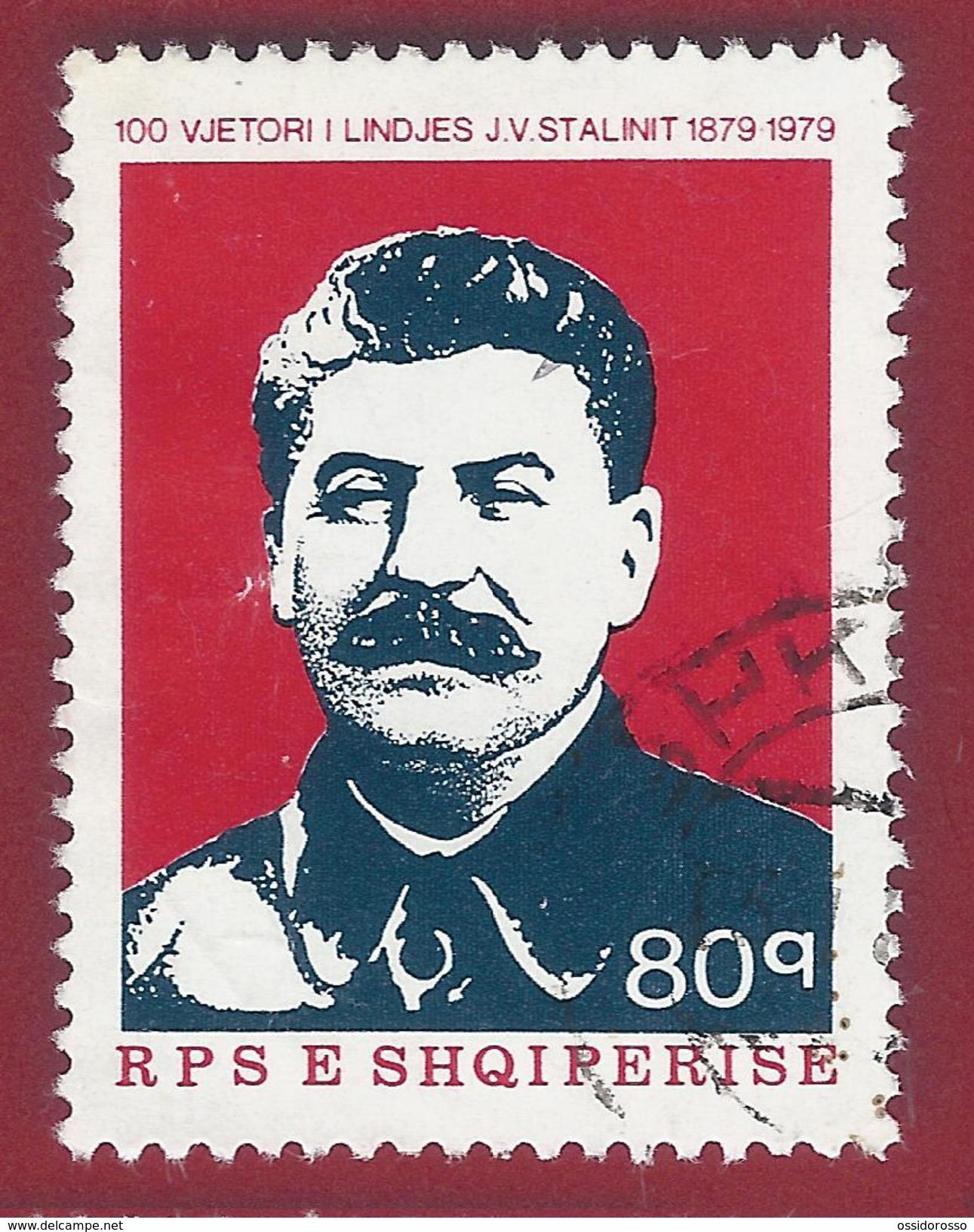 1979 - Jossif Stalin - Yt:AL 1837 - Used - Albanië