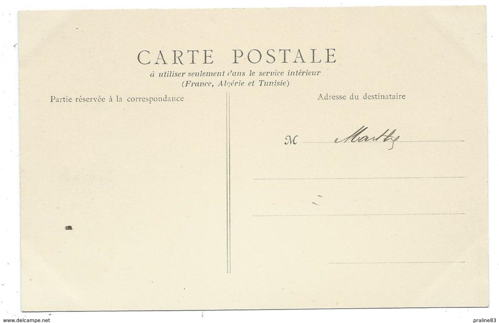 CPA - MEUNG SUR LOIRE, RUE D' ORLEANS - 45 - Animée, Enfants, Commerces : Hotel, Au Bon Marché.... - Edit. Vve Gonelle - Francia