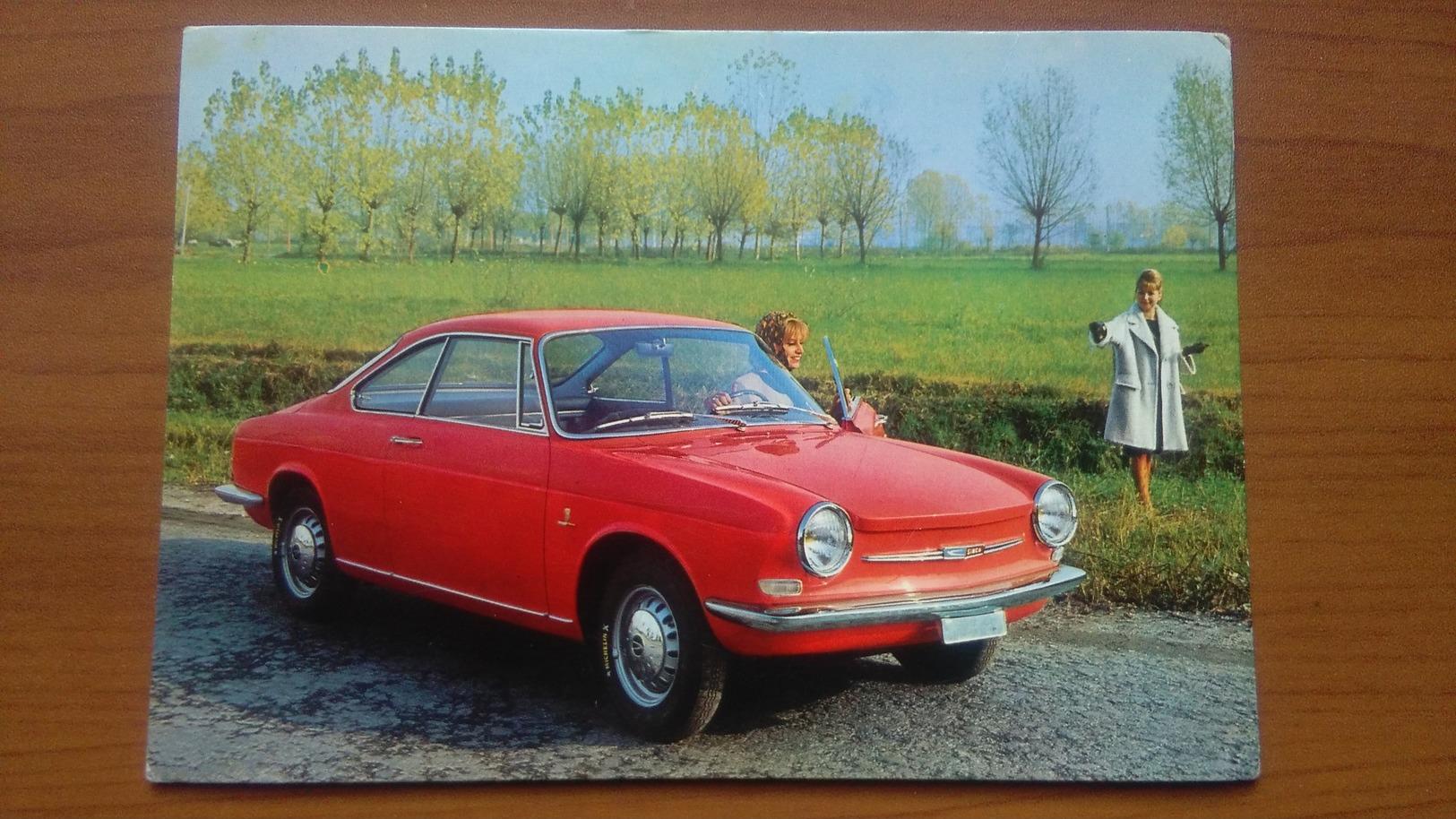 Bertone Simca 1000 Coupe' - Publicité
