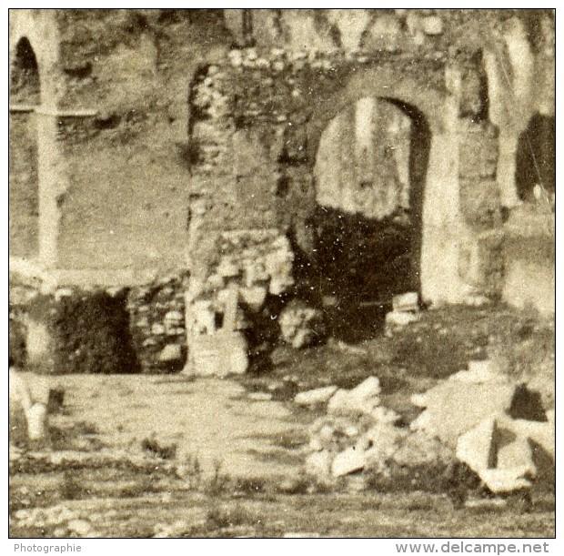 Italie Rome Forum Romain Capitole Et Voie Sacree Via Sacra Ancienne Photo Stereo Underwood 1900 - Stereoscopic