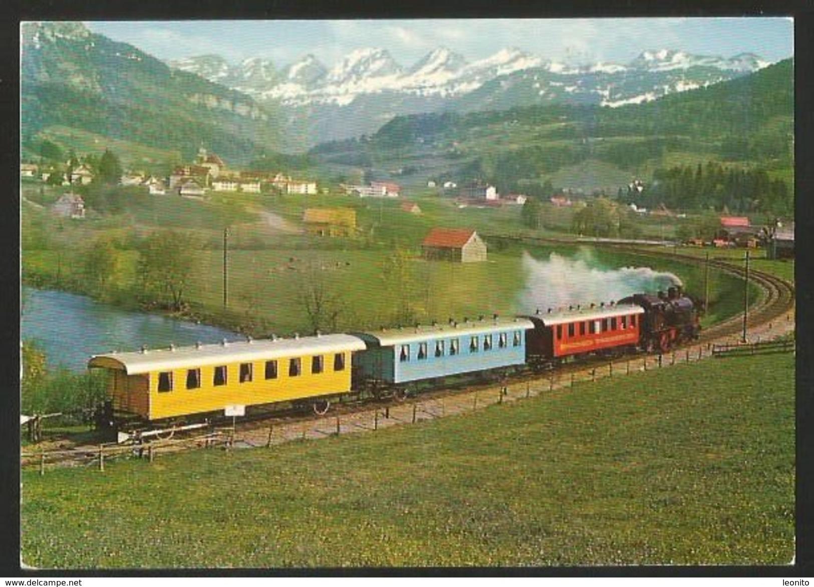 DEGERSHEIM SG AMOR EXPRESS Stempel BT Bodensee Toggenburg-Bahn Mit Briefmarke Bundesbahn 1975 - SG St. Gallen