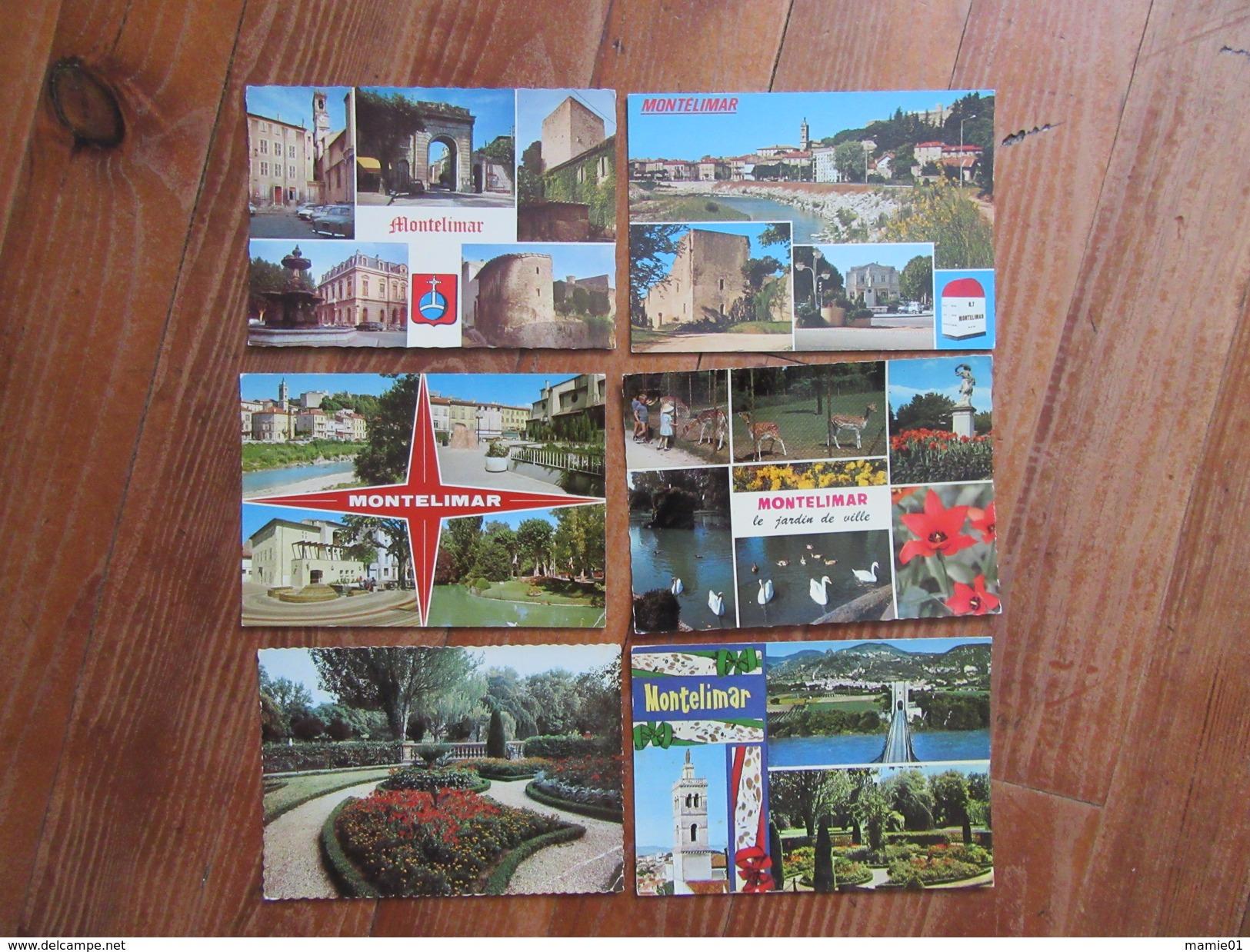 Lot De 6 Cartes De Montélimar ( Drôme ) - Cartes Postales