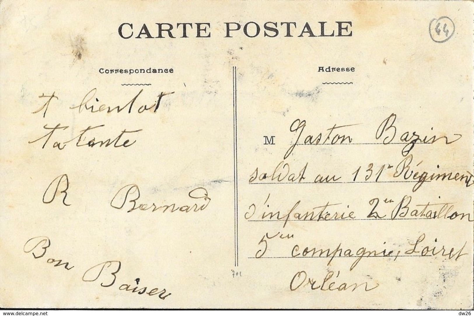 Souvenir Du Village Breton (Nantes 1910) - Vieille Bretonne Fumant Sa Pipe - Phototypie Vassellier - Europe