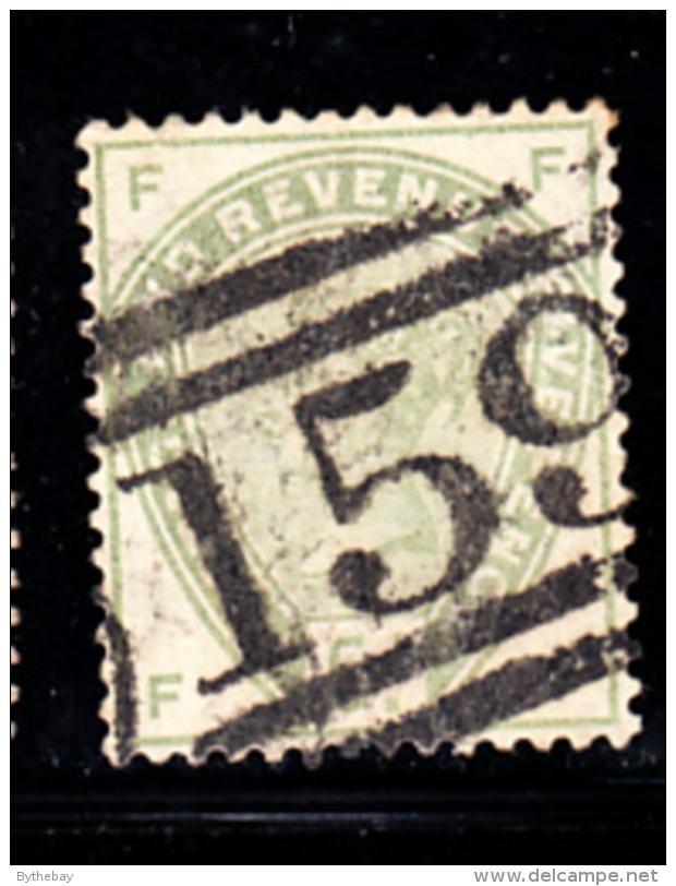 Great Britain Used #104 5p Victoria Position FF Cancel: 159 - Oblitérés